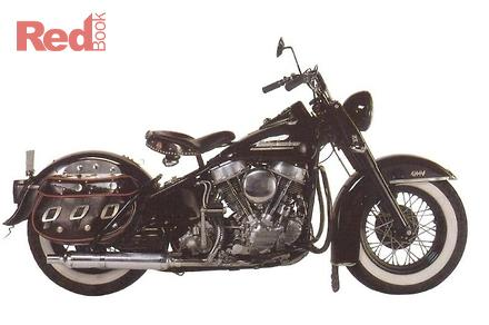 1949 harley davidson value