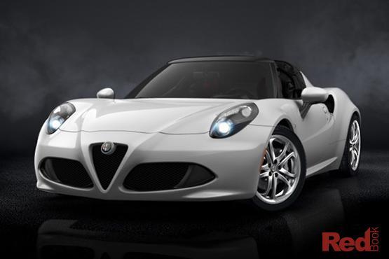 2017 Alfa Romeo 4C Auto