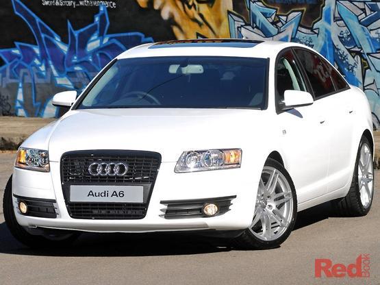 Perfect 2008 Audi A6 White Edition Auto Quattro