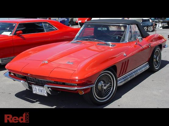1966 Chevrolet Corvette Sting Ray Manual MY66