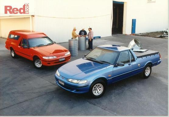 1998 Ford Falcon Tradesman GLi XH II Auto