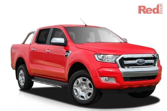 2016 Ford Ranger XLT PX MkII Auto 4x4 Double Cab