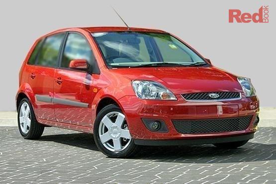 2008 Ford Fiesta Ghia WQ Auto