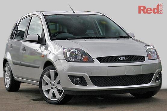 2008 Ford Fiesta Zetec WQ Auto