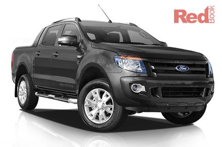 2015 Ford Ranger Wildtrak PX Manual 4x4 Double Cab