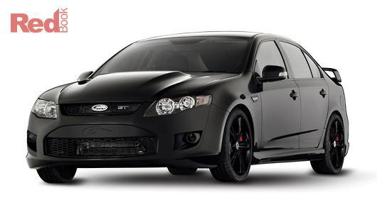 Ford Performance Vehicles Gt Boss  Black Fg Auto
