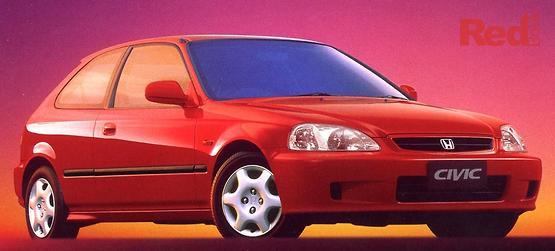 2000 Honda Civic GLi Manual