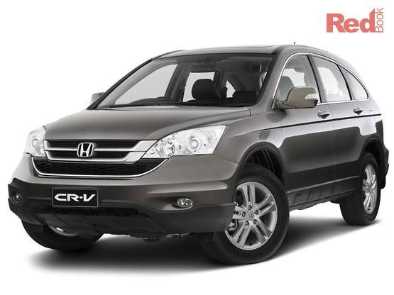 2011 Honda CR V Luxury Auto 4WD MY11