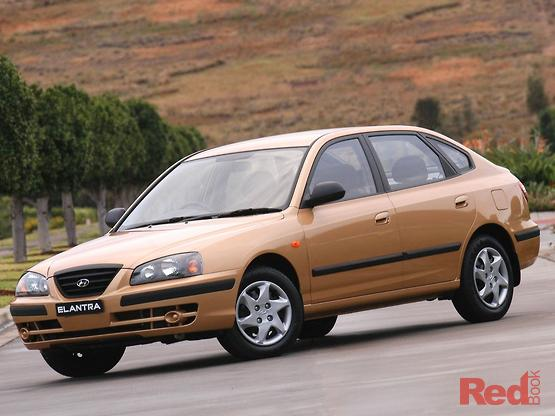 2006 Hyundai Elantra FX Auto MY05