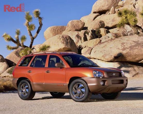 2000 Hyundai Santa Fe GLS Auto 4x4