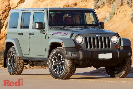 2013 Jeep Wrangler Unlimited Rubicon 10th Anniversary Manual 4x4 MY13