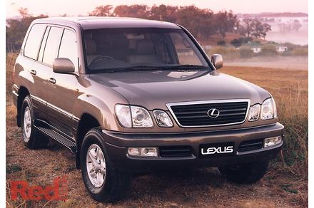 lexus lx470 seating capacity