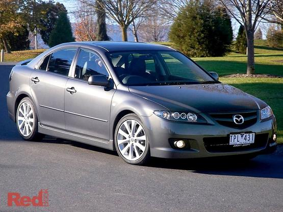2006 Mazda 6 Luxury Sports GG Series 2 Manual
