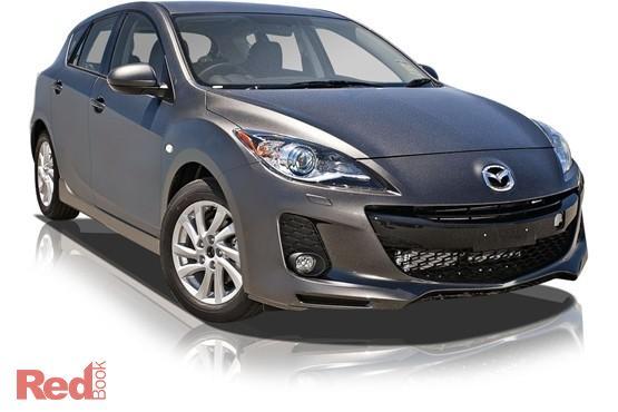 2012 Mazda 3 SP20 SKYACTIV BL Series 2 Auto MY13