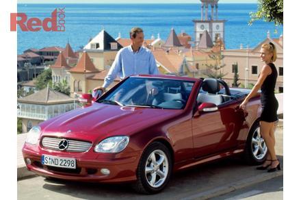 2003 Mercedes Benz Slk320 Auto