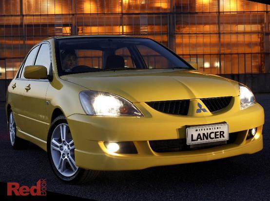 2004 Mitsubishi Lancer VR-X CH Manual