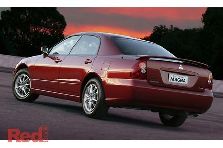 mitsubishi magna tj workshop manual