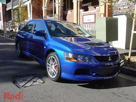 2007 Mitsubishi Lancer Evolution IX CY Manual 4WD MY07