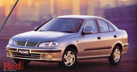 2001 Nissan Pulsar LX N16 Auto