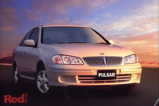 2001 Nissan Pulsar Ti N16 Manual