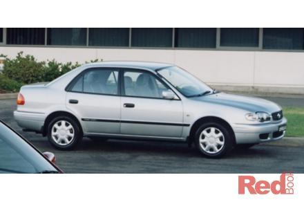 2000 Toyota Corolla Ascent Manual