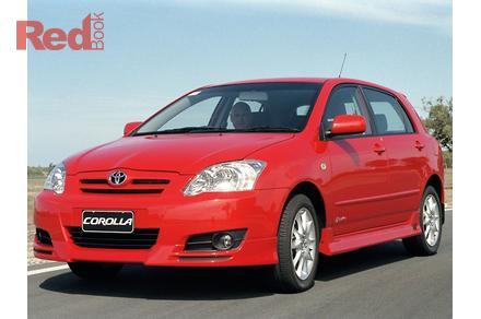 2005 Toyota Corolla Sportivo Manual