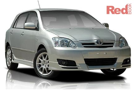 2003 Toyota Corolla Sportivo Manual