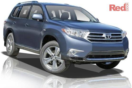 Toyota kluger 2012 price