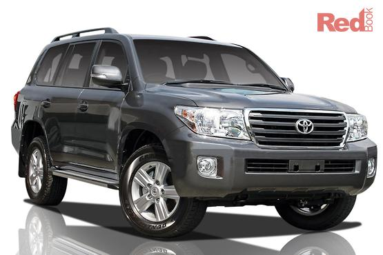 Good 2012 Toyota Landcruiser Altitude Auto 4x4 MY12