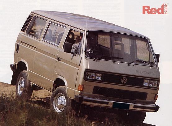1989 Volkswagen Transporter DL T3 Manual Syncro