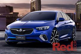 New Holden Commodore cut short