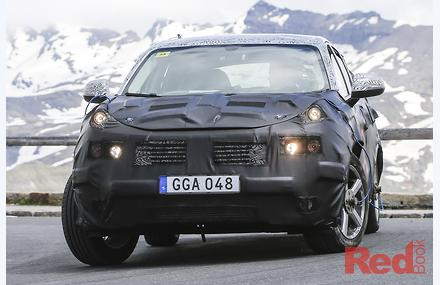 Spy Pics Geely Suv To Underpin Volvo Car Reviews News
