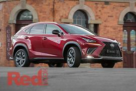 Lexus releases updated CT and NX families