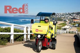 E-trikes deliver for Australia post