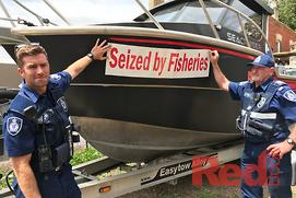 Boat seized in illegal fishing bust to go up for s...