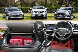 Choosing a family car under $30k: Video
