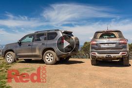 Toyota Landcruiser Prado v Ford Everest 2017: Comp...