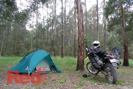 Advice: top tips for motorcycle camping