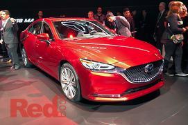 LA MOTOR SHOW: Sizzling new Mazda6