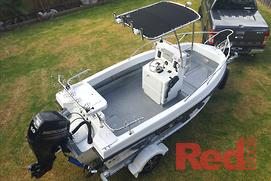 HAINES HUNTER PROJECT BOAT (PT 9): A 445R runabout...