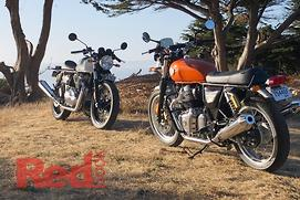 One way to test a Royal Enfield