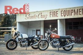 Royal Enfield Twins demo day